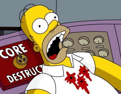Ahora Chávez persigue a Los Simpson